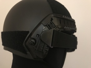 Goggle Holder For PJ Helmet