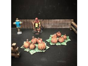 Townsfolke: Pumpkin Patch (28mm/32mm scale)