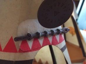 Playmobil - indianerzelt tipi Verschluss - wigwam lock