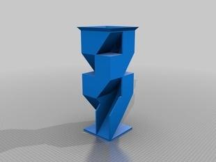 My Customized Angular Dice Tower