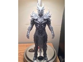 Daedric Standing Armor Set