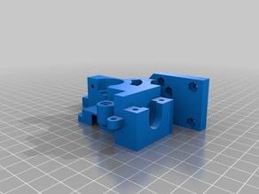 Prusa i3 parts Extruder Body M3