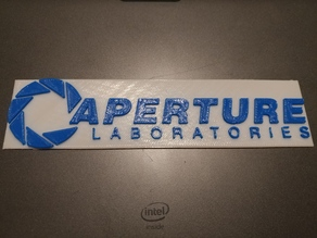 Aperture Labs Sign