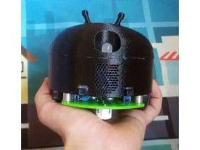 Alien android arduino robot