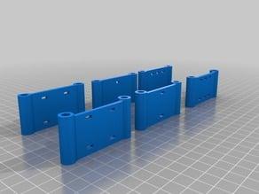 ZMR 250 Lipo Voltage alarm Mount with ziptie holes
