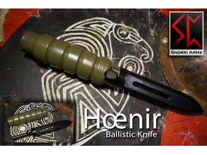Hoenir - Airsoft Ballistic Knife