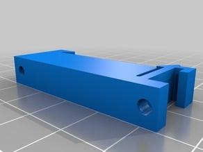 OpenSprinkler DIN rail mount