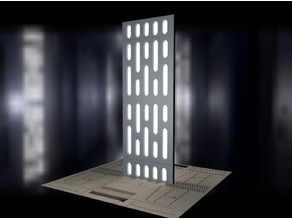 Death Star Light Panel for Figure Diorama