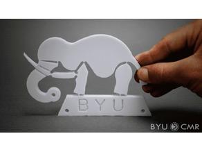 """Wyrd"" Elephant Compliant Mechanism"