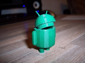 Android with a little secret box