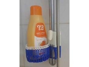 Voronoi Shampoo Holder with clamp