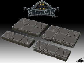 Gothic City Edge Tiles (JOIN our PATREONs)