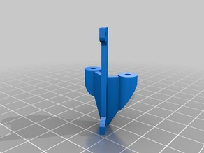 AnyCubic Kossel Fan Duct plus BL Touch mount