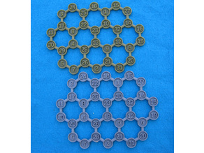 Hexagonal Array Puzzle