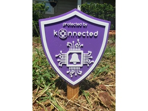 Konnected Security Yard Sign