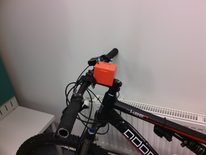 Battery case for bicycle led lamp (4x 18650 batteries)
