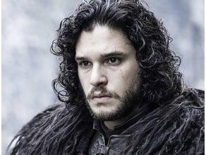 John Snow - Game Of Thrones Lithophane Photo