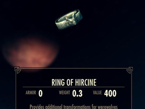 The Ring of Hircine