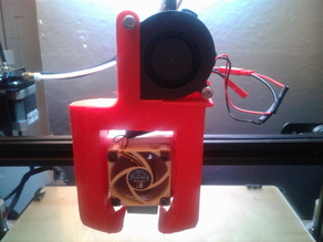 Petsfang mod to fit mounting for CR-10 Heavy Duty customisable modular e3D V6 mount Volcano 5015 ABL by chito