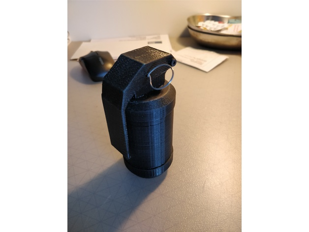 Dummy Grenade with Treath by MAL_0703 - Thingiverse