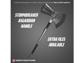 Stormbreaker: Asgardian Handle from Avengers: Infinity War