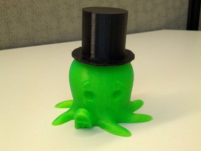 Top Hat for Cute Octopus
