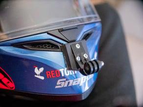 AGV K-3 SV helmet GoPro mount adapter