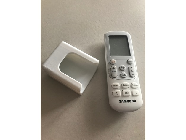 Samsung AC remote holder by alessandroghezzi1987