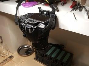 Camera wall mount