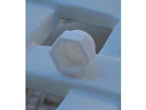 Domed Nut Cap M6 6mm