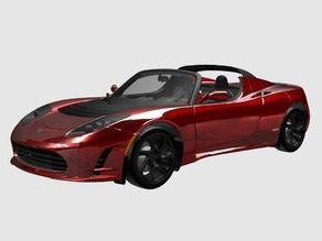 Elon's Tesla Roadster (Outdated)