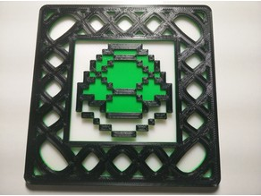 Single Extruder Multi-Color 8-Bit Mario Coasters