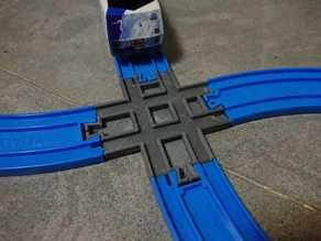 Plarail compatible 78mm M/F Junction Track (Non-standard)