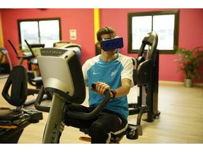 Sport VR glasses (cardboard)
