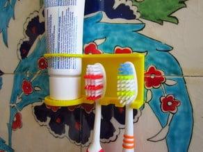 diş fırçalık TOOTHPAST BRUSH HOLDER