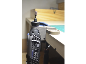 Vertical Support for Dremel