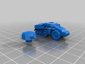 Citroen Kegresse P28 Armoured car