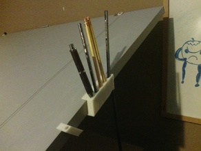 Drafting Table Pencil Holder