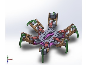 Quadrapod/Hexapod
