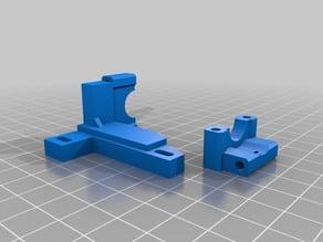 Cube 2 E3Dv6 mount (bowden)
