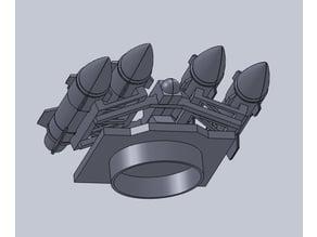Mobile Missile Launcher Convert Set