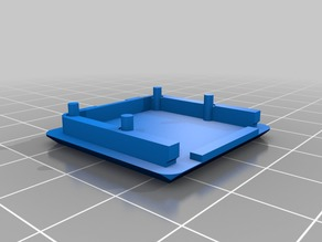 Rpi camera mount without overhangs