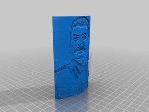 Joseph Stalin Lithophane