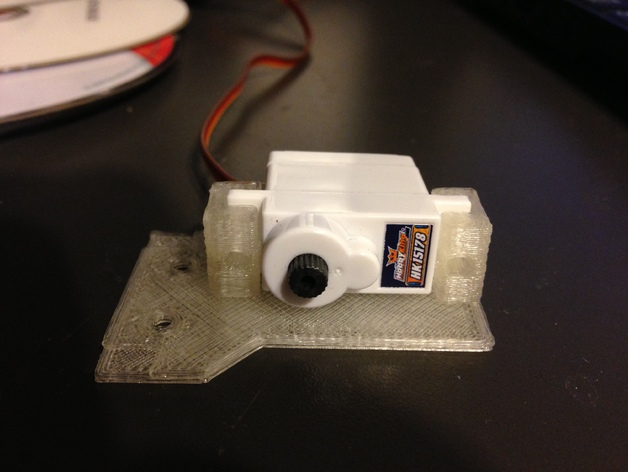 Astromech Dome Hinge Servo Adapter by HamiMiami - Thingiverse