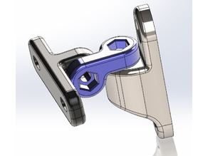 Speaker Wall Mount, 2 axis articulation