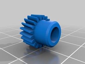 Robox plastic gear extruder