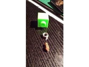 Halteblock für Nozzels um auf 3 mm zu bohren