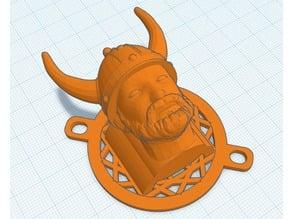 Anet A8 Viking Head Fan Cover Prusa Clones