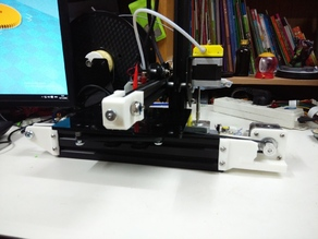 Creality CR-7 extend print area to 140W x 175D x120H