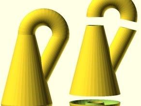 Klein Bottle from simple primitives